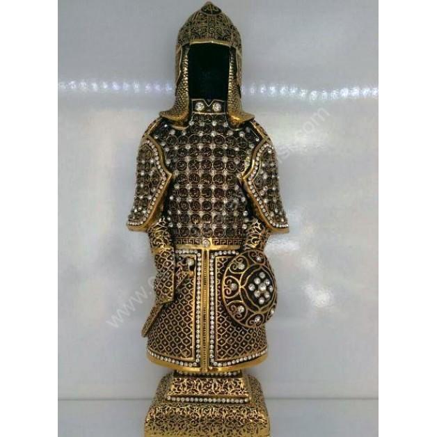 Esmaül hüsna yazılı diriliş osmanlı askeri zırhı
