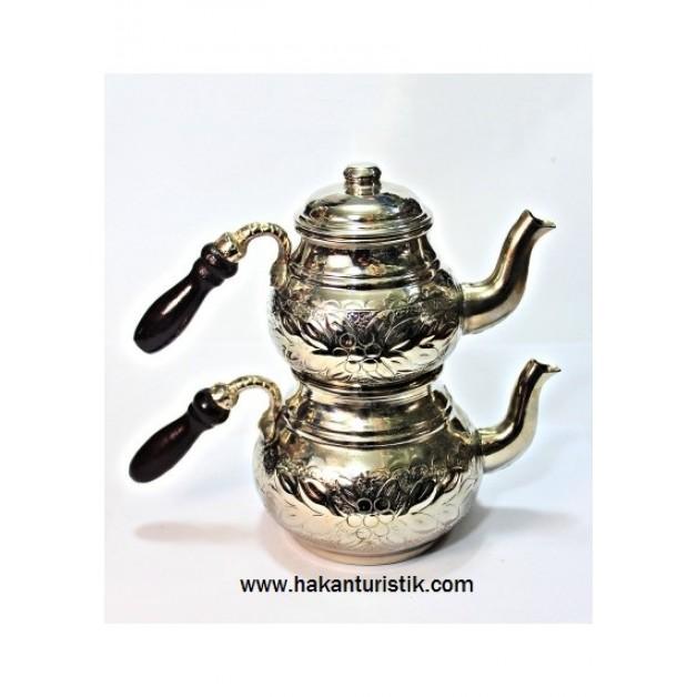Küçük Nikelli Çaydanlık