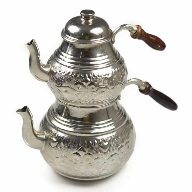 Nakışlı Büyük Boy Çaydanlık