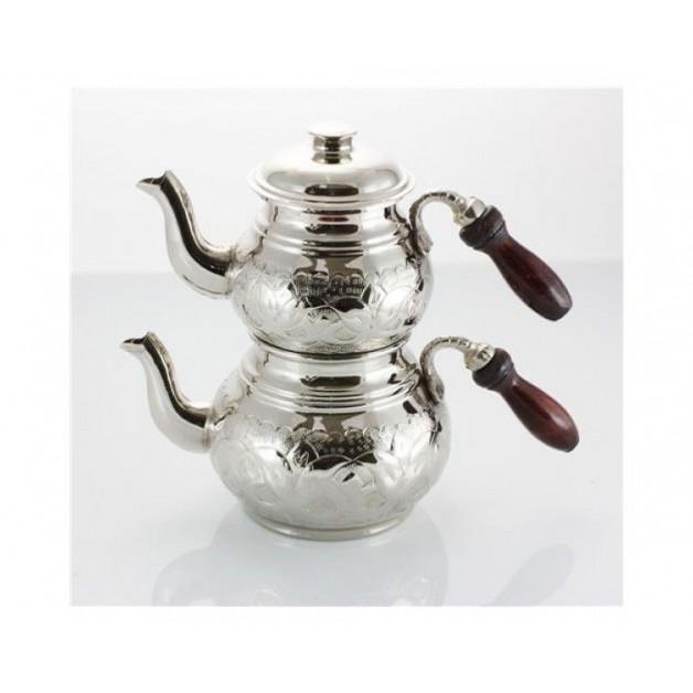 Nakışlı Küçük Boy Çaydanlık